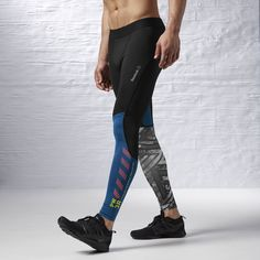 Reebok - Reebok ONE Series Fe26 Rush Compression Tight