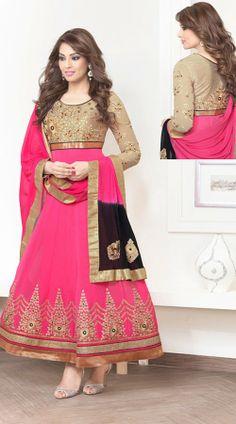 Bipasha Basu In Pink Salwar Kameez BR100338