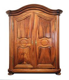 Barockschrank - Nussbaum - Barock - Antiquitäten - Antik - Möbel