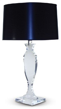 Clear Lucite Table Lamp from the CORT Signature Collection 2013