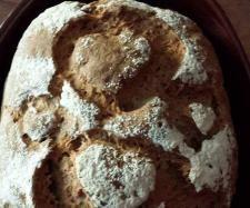 Rezept Sauerteigbrot mit Chiasamen und Dinkelmehl. von marryan - Rezept der Kategorie Brot & Brötchen