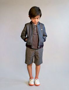No Added Sugar summer 2014 preview, cool subtle prints for boys shorts