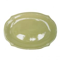 Anchor Hocking Isabella Wintergreen Large Oval Platter, 16""