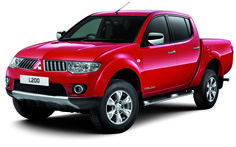 The Mitsubishi L200