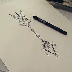 Imagem de drawing, art, and tattoo