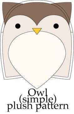 Simple Pattern: Owl by taeliac.deviantart.com on @deviantART