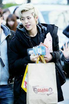 Daehyun my Busan boy.  BAP