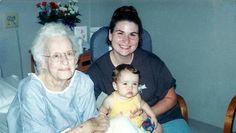 Grandma Sadler and Jenny