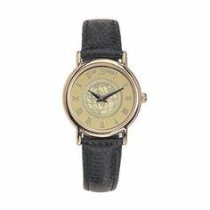 Eastern Kentucky - Ladies 18K Gold 7M Watch - Black