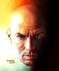 Professor Xavier by Boris Vallejo