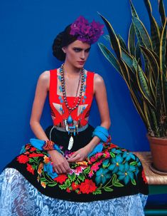 inspired by Frida | Vogue Mexico.