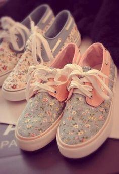 Girly sneakers