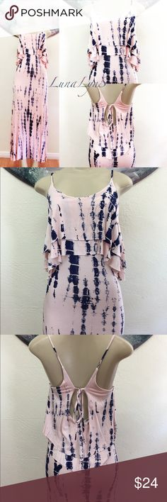 Dye for pink dress Dye for pink and blue dress usually $34.99 Dresses Maxi