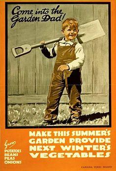 Canadian vintage poster
