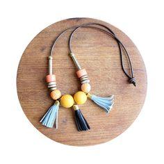 {Ida Tassel Necklace} Tzunuum Jewelry
