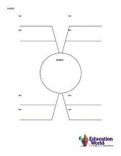 Flowchart Templates Word Education World Umbrella Chart Template  Btp  Pinterest  Chart .