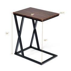 Coffee Sofa Side End Table Wood Tea Desk Storage Living Room Home Mini Furniture 763714943550