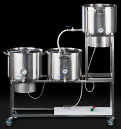 This could make life a little more fun. Mr. Beer it is not. If you're ready to get serious about your home brewing, check out the Synergy Home Beer Brewing System ($1,900). It offers no-nonsense looks thanks to professional TIG welded, 304 stainless steel construction, and features swiveling, lockable casters, an FDA-approved lower shelf for pumps and chillers, two 155,000 BTU propane burners with separate controls, a mash tun, hot liquor tank, and a boil kettle — all the tools you need to create pro-quality beer, conveniently placed on four wheels.