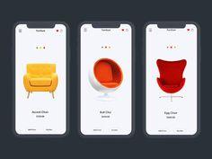 Furniture App Exploration designed by Mohammad Shohid 💯 . Dashboard Design, App Ui Design, Design Lab, Interface Design, Ecommerce App, Affordable Furniture Stores, App Design Inspiration, Design Ideas, Mobile Web Design