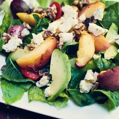 We share a divine Grilled Peach Salad Recipe from Guilty Kitchen, the blog of British Columbia native Elizabeth Nyland. The married mom of two is passionate about the local food movement & delivers equal parts temptation and guilt in her recipes.   Like the 'Spittin' Sisters on Facebook. http://www.facebook.com/pages/Spittin-Out-The-Pitts/343245912415214