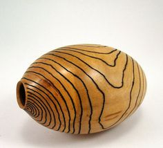 Topographical Cherry Vessel by makye77 on Etsy, $61.00