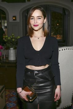 January 09: W Magazine It Girl Luncheon - 0901 WMagazineLuncheon 0001 - Adoring Emilia Clarke - The Photo Gallery