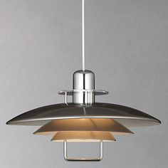 Buy Belid Felix Rise and Fall Ceiling Light, Satin Nickel from our Ceiling Lighting range at John Lewis. Free Delivery on orders over Home Lighting, Chandelier Lighting, Modern Lighting, Exterior Lighting, Lighting Design, Chandeliers, Fall Ceiling Light, Ceiling Lights, Kitchen Lighting Fixtures