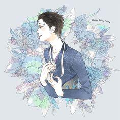 victuri owns my soul: Photo Yuuri Katsuki, Yuri On Ice, Anime, Art, Twitter, Art Background, Kunst, Cartoon Movies, Anime Music