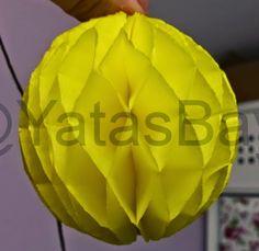 Schredderkugel Wabenpapierkugel selber basteln - Anleitung - Artgerechte Papageienhaltung - (Yatas68.Blog)