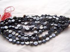 Vintage Czech glass nailhead beads 7mm by Frenchsteelbeadshop