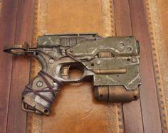 STEAMPUNK / POST APOCALYPTIC gun Shotgun Nerf by IgnisFatuusBooks