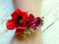 Corsage de poignet de roux de printemps brassard par LumilinA
