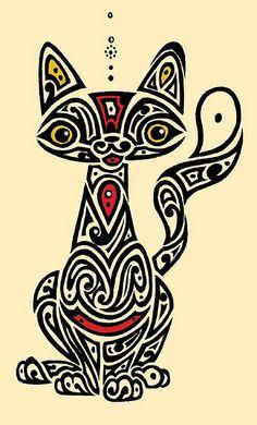 gato | von Henrique Vieira - ilustrações, estudos e esboço
