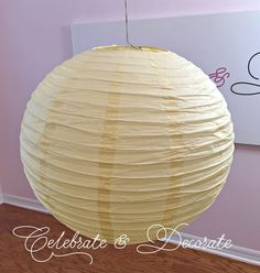 From Paper Lantern to Fabulous Decor