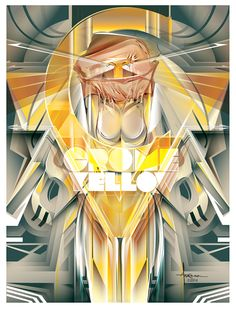 THANK YOU POP CULTURE - Crome Yellow #vector tribute by Orlando Arocena_Mexifunk_on Behance