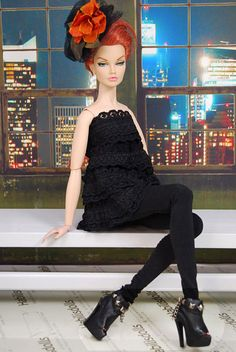 HABILISDOLLS boots shoes for Tulabelle, Poppy Parker 16'' dolls Tonner, Sybarite