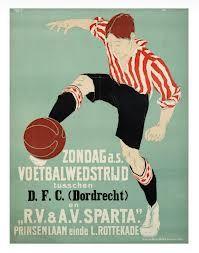 soccer poster design 1920s - Google Search