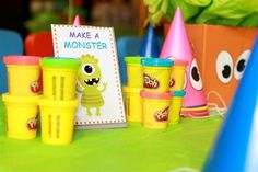 """Photo 2 of 33: Little Monster Bash / Birthday """"Lucas's 1st Birthday Party"""" 