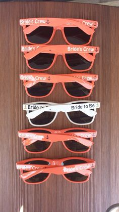 5 Pack Sunglasses Personalized 85 Designs For Ceremony Photo Booth