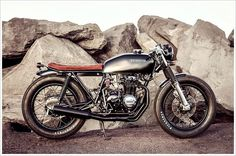 1978 Honda CB400F by Salty Speed Co. Cafe Racer