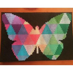 Butterfly perler beads by  always.in.bed