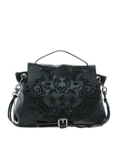 Ameko Laser Cut Leather Bag