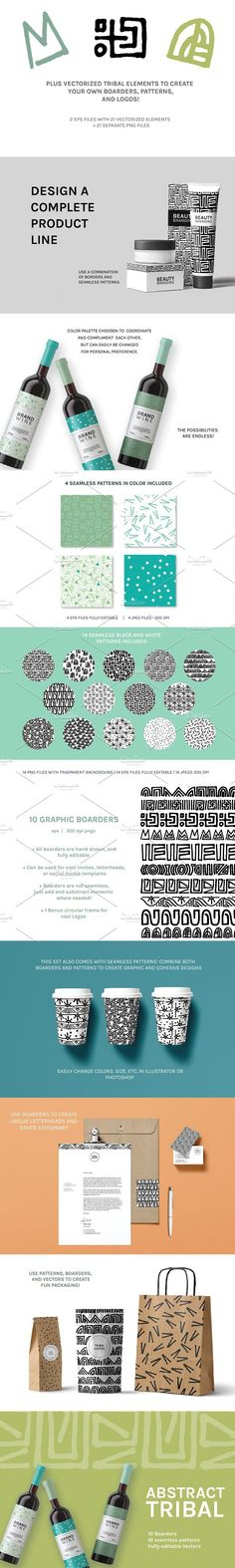 Abstract Tribal | Boarders   Design
