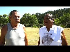 James Robideau speaking with Leonard Crow Dog