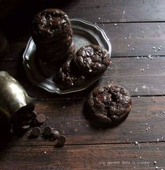 Orange & Dark Chocolate Olive Oil Cookies