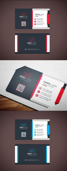 Modern Business Card Template  #modern #creative Unique Business Cards, Business Card Design, Graphic Design Tips, Web Design, Branding Design, Logo Design, Name Card Design, Bussiness Card, Name Cards