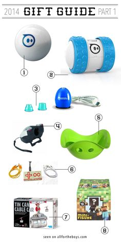 2014 gift guide from All for the Boys - some really unique ideas here! Christmas 2014, Christmas Gifts, Kid Stuff, Cool Stuff, Best Games, Gift Guide, Kids Toys, Families, Gift Ideas