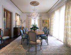 formal dining room in a modern home... by Falken_Reynolds