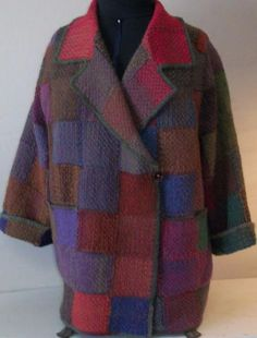 Painted Pin Loom Jacket