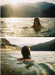 """Nada en cada océano."""
